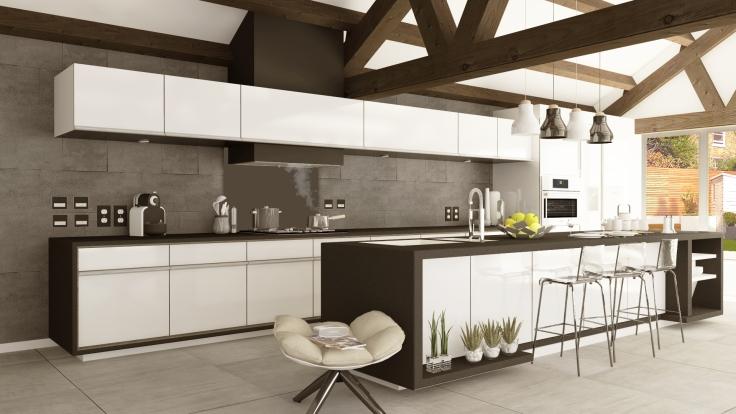 Big C kitchen modern